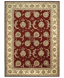 """Nourison Area Rug, Wool & Silk 2000 2022 Lacquer 5' 6"""" x 8' 6"""""""