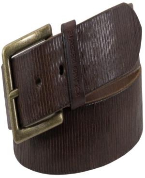 Men's Martin Leather Belt