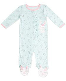 Baby Girls Printed Coverall
