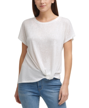 Knot-Front Top