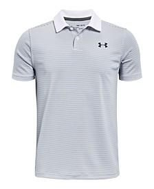 Big Boys UA Performance Stripe Polo T-shirt