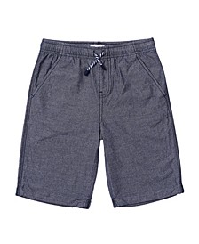 Little Boys Crosshatch Shorts