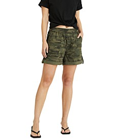 Trail Blazer Camo-Print Shorts