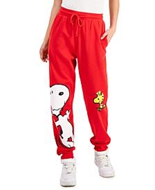 Juniors' Snoopy Jogging Pants