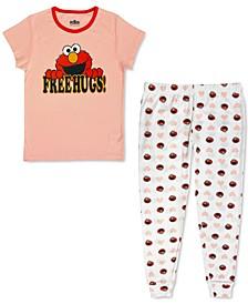 Women's Elmo Free Hugs Family Pajama Set