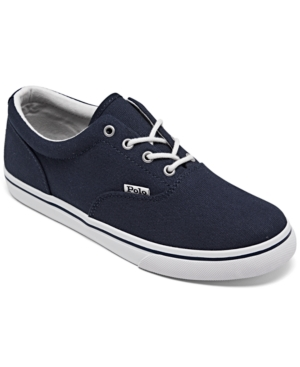 Polo Ralph Lauren Canvases BIG BOYS KEATON CASUAL SNEAKERS FROM FINISH LINE