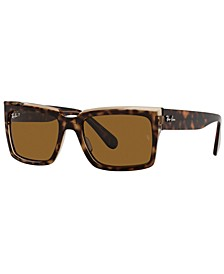 Unisex Inverness Polarized Sunglasses, RB2191 54