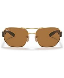 Unisex Polarized Sunglasses, RB3672 60
