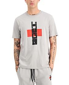 Men's Dalamander Bamboo-Logo Gray T-Shirt, Created for Macy's