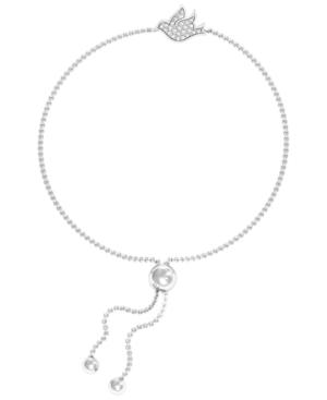 Diamond 1/10 ct. t.w. Flying Dove Bracelet in Sterling Silver