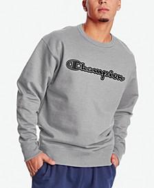 Men's Logo-Print Fleece Sweatshirt