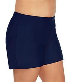 Plus Size Swim Shorts, Created for Macys