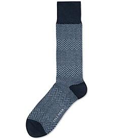 Men's Herringbone Dress Socks