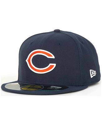 New Era Chicago Bears On Field 59FIFTY Fitted Cap