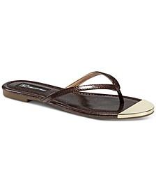 INC Mercerr Thong Sandals, Created for Macy's