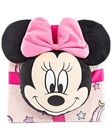 Minnie Mouse 2-Pc. Nogginz Pillow & Travel Throw Set