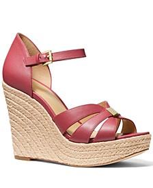 Maggie Espadrille Wedge Sandals