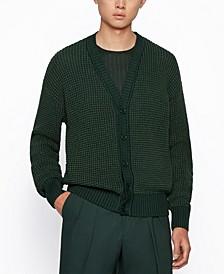 BOSS Men's Silk-Blend Cardigan