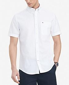Men's Custom-Fit Porter Textured Shirt