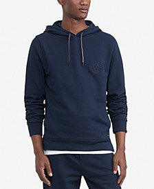 Men's Logo Embroidered French Terry Hoodie