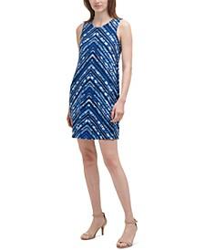 Petite Printed Jersey Dress