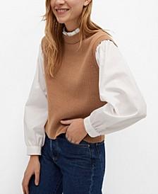 Knitted Shirt Sweater