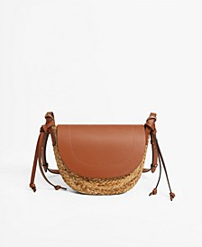 Jute Cross-Body Bag