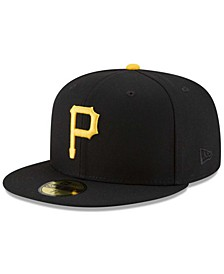 Pittsburgh Pirates 100th Anniversary Patch 59FIFTY Cap