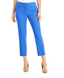 Petite Slim-Leg Cropped Pants