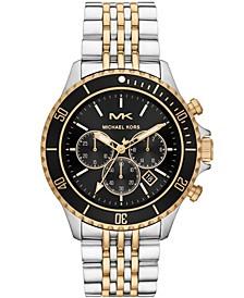 Men's Bayville Two-Tone Stainless Steel Bracelet Watch 44mm