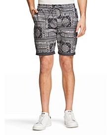 Men's Slim Fit Drawstring Shorts