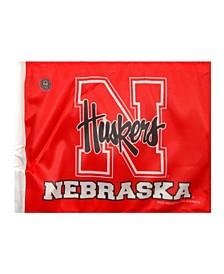 Nebraska Cornhuskers Car Flag