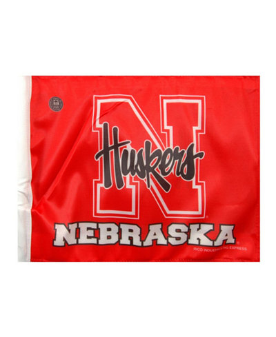 Rico Industries Nebraska Cornhuskers Car Flag