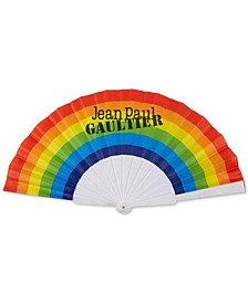 Receive a complimentary Pride Fan with any purchase of the Le Male Pride Limited Edition Collector's Bottle