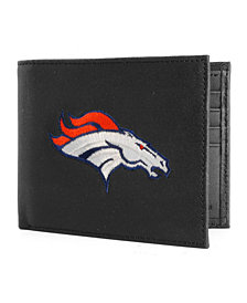 Rico Industries Denver Broncos Black Bifold Wallet