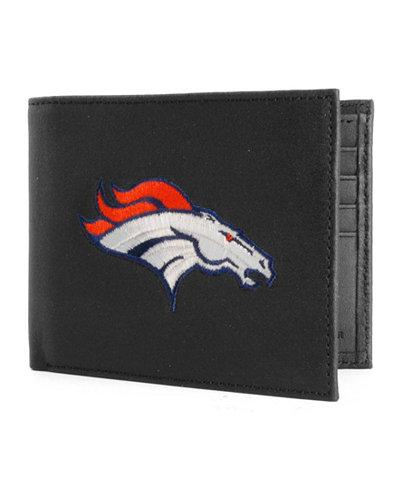 Rico Industries Denver Broncos Black Bifold Wallet