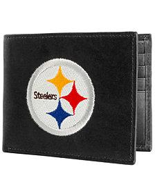 Rico Industries Pittsburgh Steelers Black Bifold Wallet