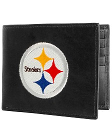 Rico Industries Pittsburgh Steelers Black Bifold Wallet