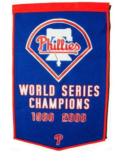Winning Streak Philadelphia Phillies Dynasty Banner