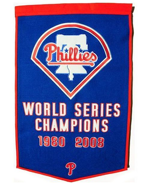 Winning Streak Philadelphia Phillies Dynasty Banner