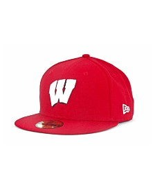 New Era Wisconsin Badgers 59FIFTY Cap