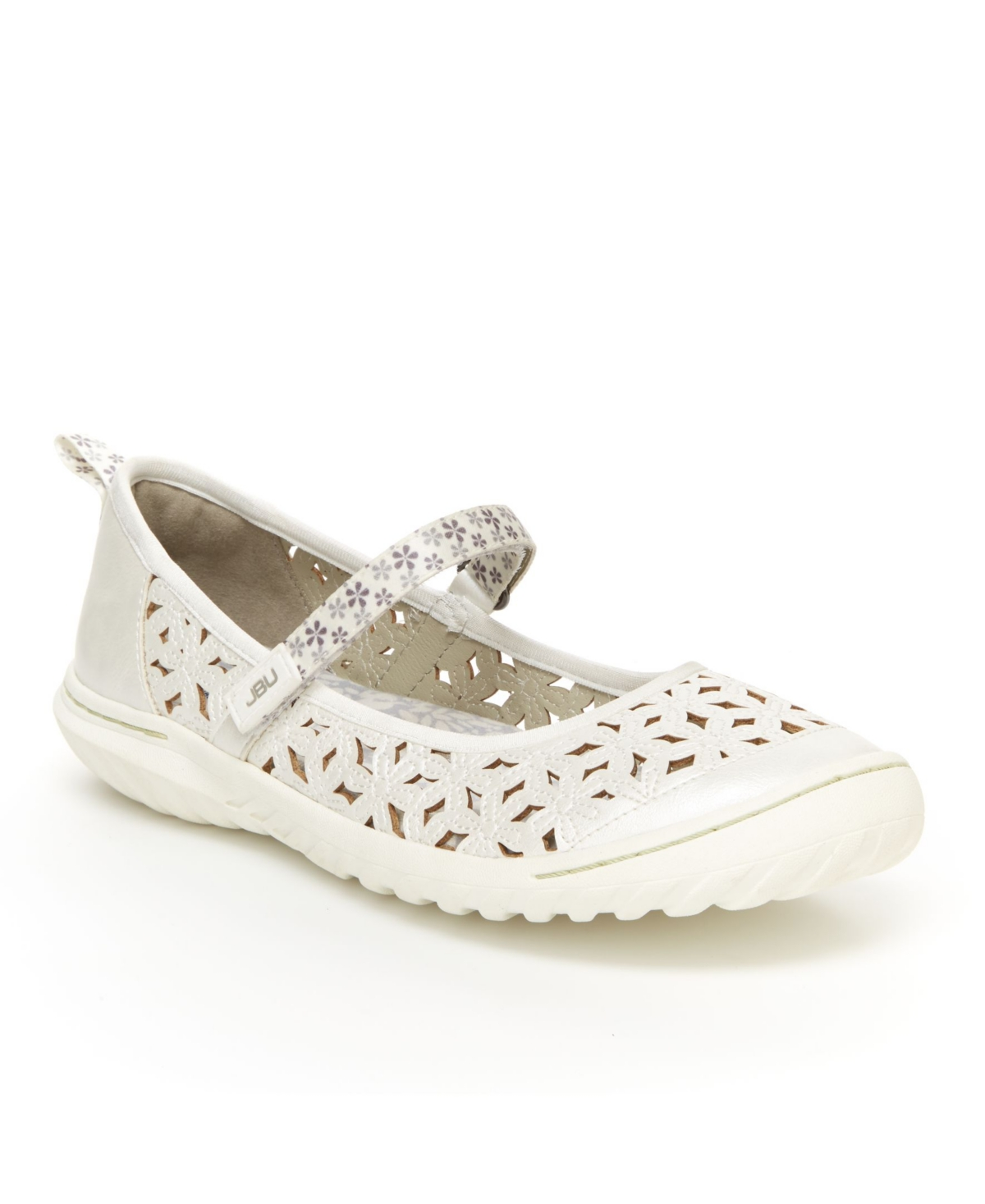 Jbu Women's Wildflower Casual Mary Jane Flats Women's Shoes