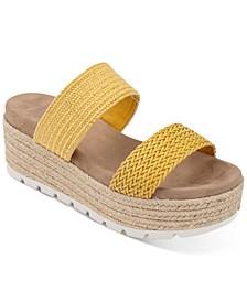Aria Espadrille Flatform Sandals