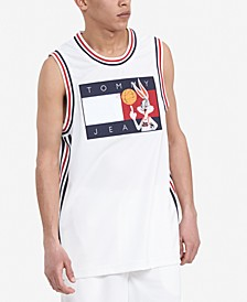 Tommy Hilfiger Men's Space Jam: A New Legacy x Tommy Jeans Basketball Tank