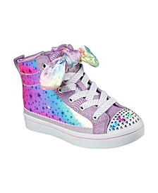 Little Girls Twinkle Toes: Twi-Lites - Scrunchie Magic Casual Sneakers from Finish Line