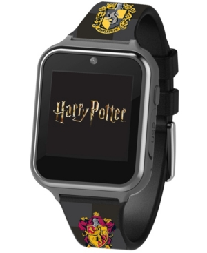 Harry Potter Kid's Touch Screen Black Silicone Strap Smart Watch