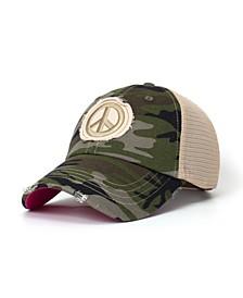 Women's Peaceful Lady Trucker Hat