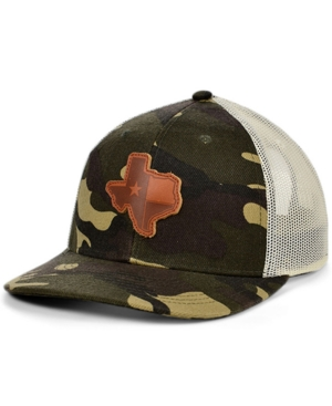 Local Crowns Texas Woodland State Patch Curved Trucker Cap