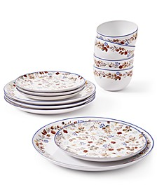 Harvest 12-Pc. Dinnerware Set, Service for 4, Created for Macy's
