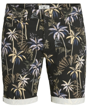 Men's Tropical Stretch Denim Shorts